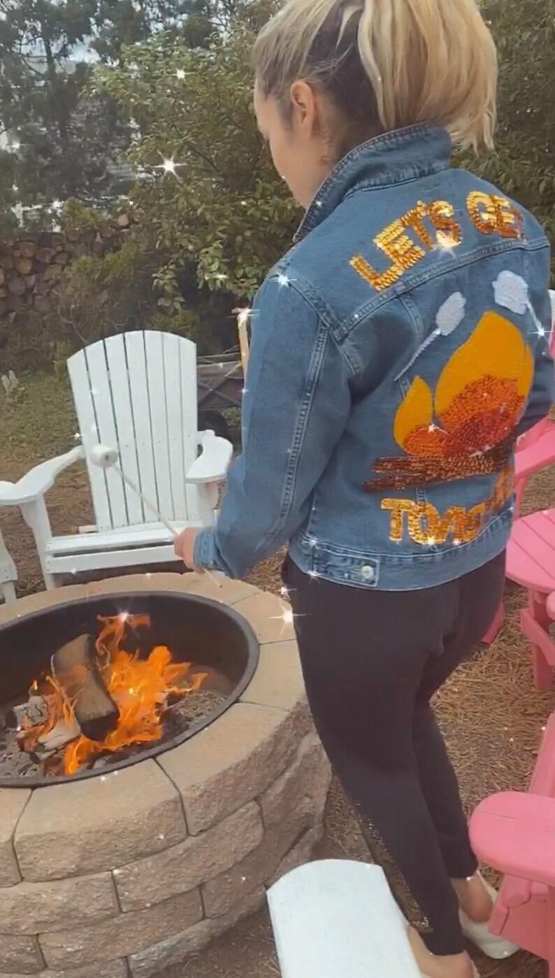 Fire Pit Denim Jacket