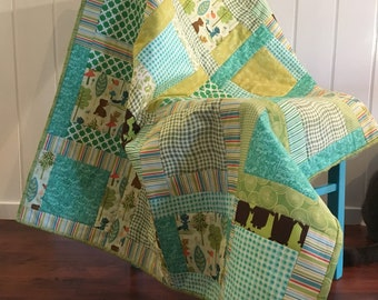 Green Forest Quilt