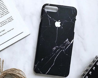 marble black iphone X case, marble case for iphone 8, marble case, iPhone 8 plus Case, iPhone 7 Plus Case, iPhone 7 Case