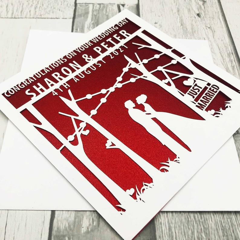 Personalised Wedding CardWedding CardsWedding Day image 0