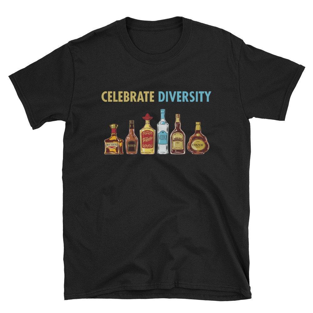 Célébrer la diversité diversité la T-Shirt unisexe - l alcool croisière  vacances fête b02787fcb4a1