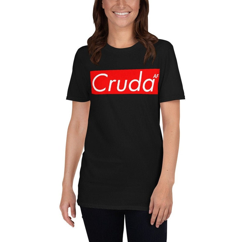 Cruda AF Unisex T-Shirt  Hungover shirt Mexican culture image 0