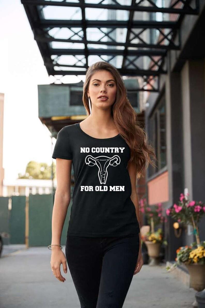No Country For Old Men Uterus Ladies' Scoopneck T-Shirt  image 0