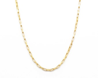 mini chain link necklace
