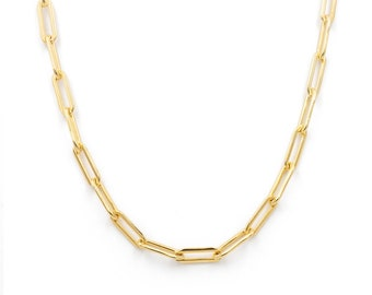 chunky chain link necklace