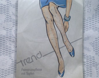 Cubus patterned pantyhose tights abstract pattern cute etsy