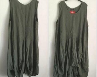 6c5f4bcc1cf Plus size linen dress