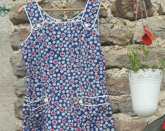 Vintage 7O's Flower Power dress