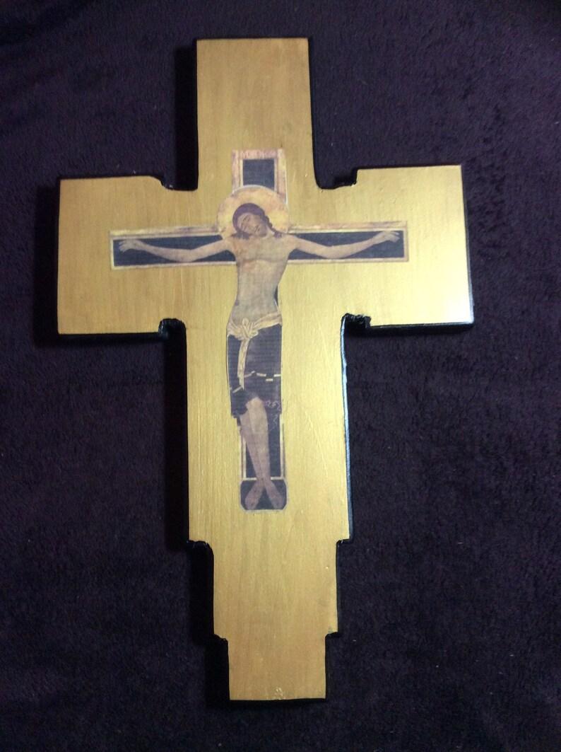 Crucifixion of Jesus Christ wood