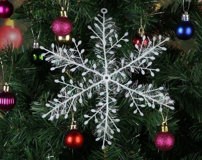 Christmas Snowflakes For Christmas Tree