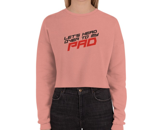 Crop Sweatshirt Custom Made