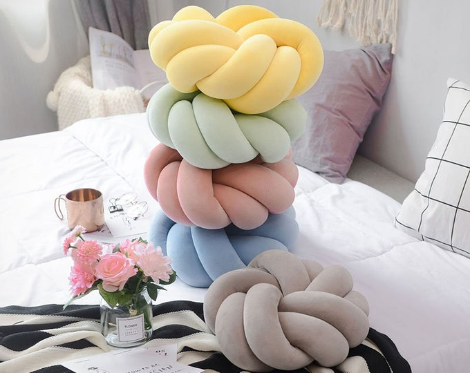 Danish Handmade Knotted Pillows