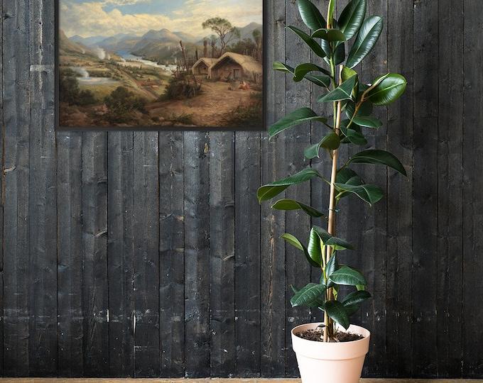 Charles Blomfield Framed Painting