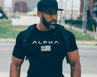 Alpha Gym Workout T-Shirt |  Your Wardrobe's Secret Weapon
