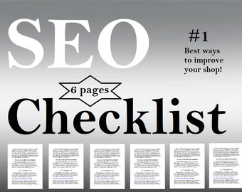 Download Now. An SEO Checklist, 6 critical steps and 16 actions. SEO Help