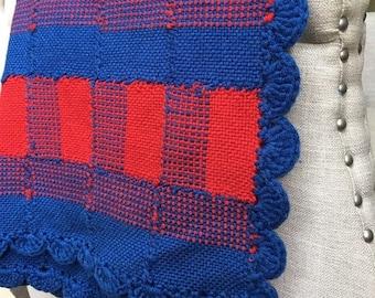 Vintage | Buffalo Check Plaid Blanket