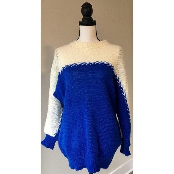 Vintage 1980s | Oversized Pullover Crewneck Sweate