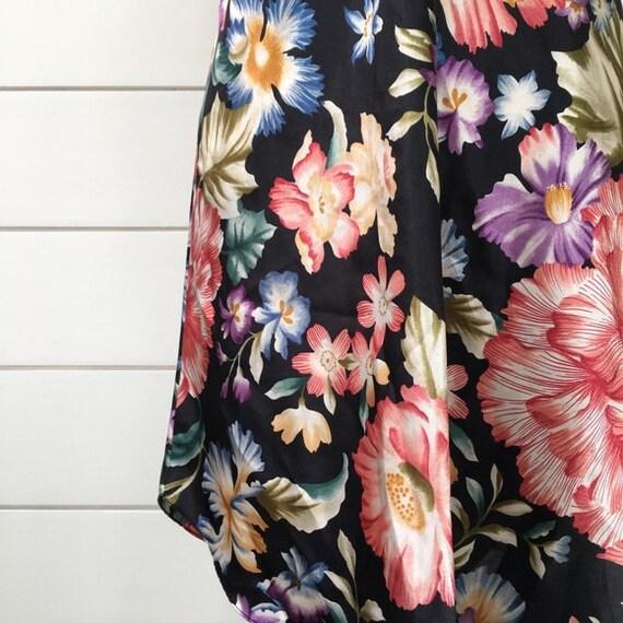 Vintage 1990s | Floral Slip Dress - image 3