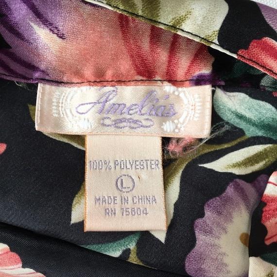 Vintage 1990s | Floral Slip Dress - image 4