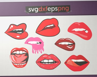 Lips svg files for cricut Lips party Lips gift Lips eps Lips png Lips clipart Lips stickers decor decal decoration download birthday dxf