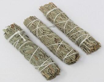 Blue Sage Smudge: 3 Pack Bundle (Sage Bundle, Blue Sage Smudge)