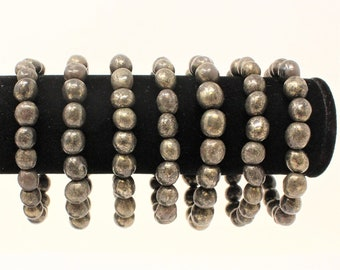 Healers Gold Gemstone Bracelet 6-8 mm stones (Stretchy, Healers Gold, Stretch Bracelet, Tumbled Stone Bracelet, Gift)