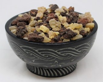 Frankincense & Myrrh Resin Granular Incense 'A' Grade: Choose 1/2oz, 1oz, 2oz, 4oz, 8 oz or 1 Pound Bulk (Church Incense, Christmas Incense)