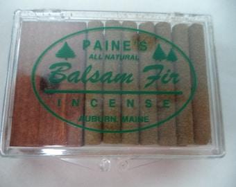 Paine's Balsam Fir Christmas Tree Incense: 14 Sticks with Mini Holder! (Paines Balsam Fir Incense, Christmas Tree Incense)