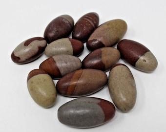Shiva Lingam Stone: Choose Size - Sacred Stones from Narmada River India (Kundalini Awakening, Healing Crystal)