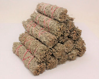 Blue Sage Smudge Sticks: Choose 1 2 3 5 10 20 or 50 Sticks (Sage Bundle, Blue Sage Smudge, Energy Cleansing Bundle)