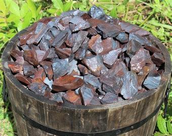 Hematite Rough Natural Crystals: Choose 4 oz, 8 oz, 1 lb, 2 lb, 5 lb Bulk Lot (Rough Hematite, Raw Hematite)
