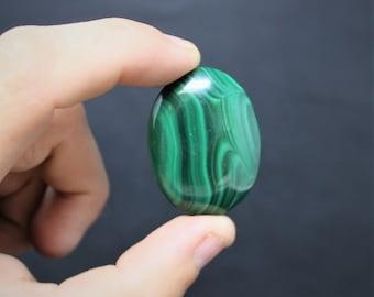 Malachite Cabochon, Natural Malachite, Loose Semi Precious Gemstones
