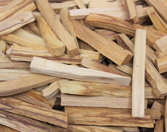 Palo Santo Wood: Choose 1 oz, 2 oz, 4 oz, 8 oz or 1 lb (Holy Wood, Palo Santo Smudge Stick, Cleansing, Blessing, Wholesale Lot)