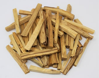 Palo Santo Smudge Sticks: Choose 1 2 3 5 10 20 50 100 or 200 (Holy Wood, Smudge Stick, Cleansing, Energy Cleansing, Bulk Lot)