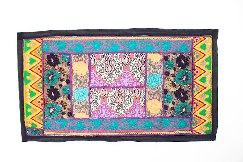 Vintage Wall Decor Indian Tapestry Handmade Wall Art Etsy