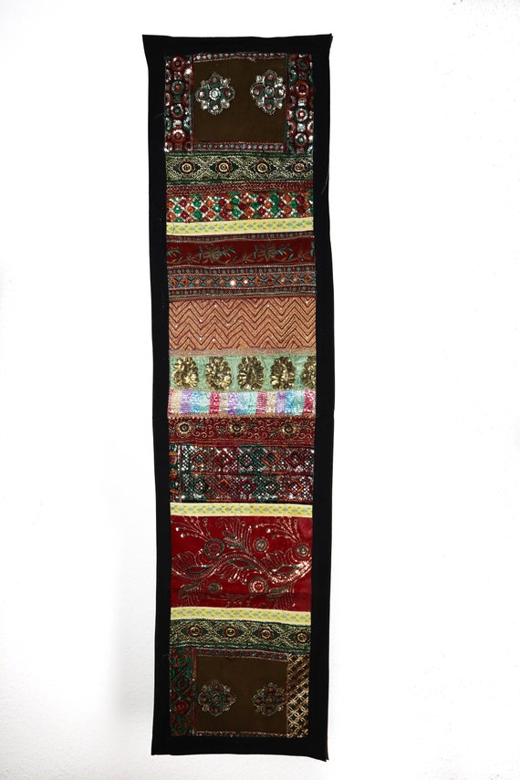 Indian Wall Art Vintage Wall Decor Handmade Boho Tapestry  3b137b03ea