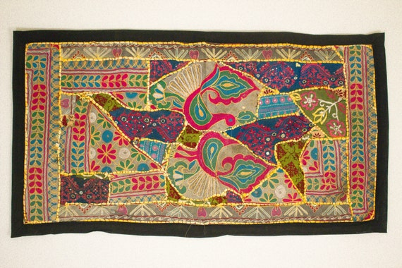 Vintage Wall Decor Indian Tapestry Handmade Wall Art  2ca517a546