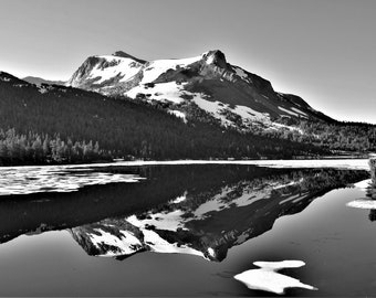 Black & White Photography, Prints, Nature, Beauty, Calm, Lakes, Reflection, Fine Art