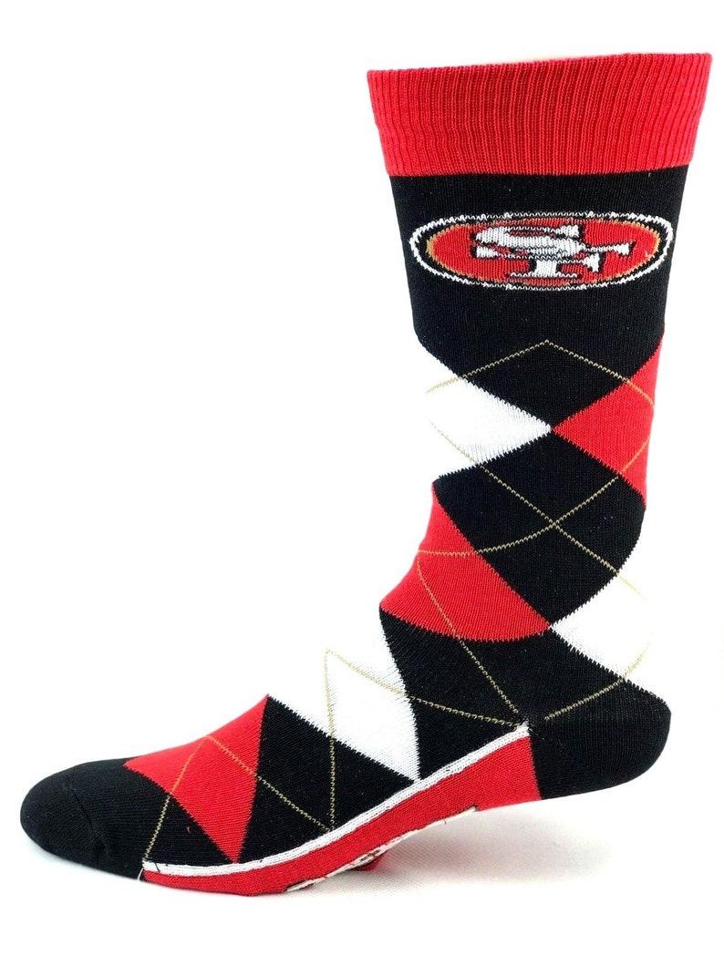 b5ff7a9c NFL San Francisco 49ers Men's Dress Socks 3 Pack Gift Set