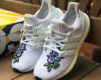 c2cff9c2afa85d Custom Shoes Adidas Ultra Boost All White - Adidas Sneaker