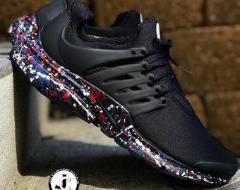 online store 71fc9 cf6e2 Custom Nike  Splatter  Prestos - Nike Custom Design - Nike shoes - Paint  Color Jackson Pollock