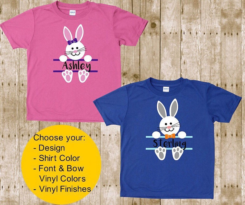 fd3e9540e2702 Kids personalized Easter Shirts Kids Easter Shirts Baby | Etsy
