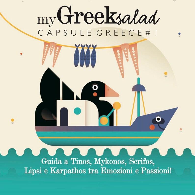 My Greek Salad Capsule Greece 1 Guide to Tinos Mykonos image 0