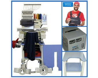 Embroidery Machine  for Commercial use CAMFIVE EMB Model HT1501 Single head Basic Package DEAL