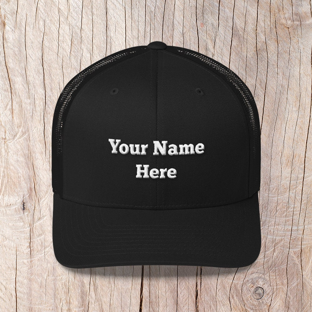 bba3394bf116b Personalized Embroidered Dad Hats, Custom Hat, Cap, Trucker Hat, Dad gift  Name Hat, Custom Baseball Cap, Personalized Embroidery 6 Panel Hat
