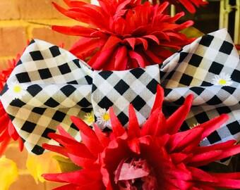Checker Board Bow Tie