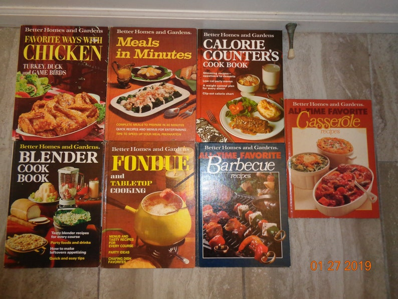 7 Better Homes And Gardens Cookbooks From The 1960s