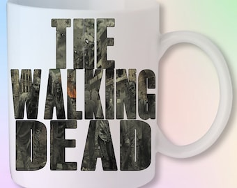 The Walking Dead Zombie Apocalypse Gift Mug
