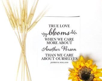 True Love Quote Etsy