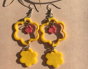 Flower Shop Dangle Earrings